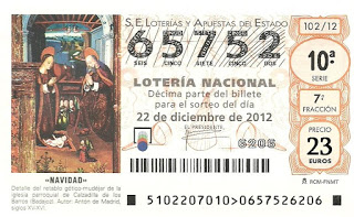 Lotería de Navidad 2012