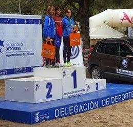 Oro y Plata para Paz González y Antonia García y en Campeonato de Andalucía de Campo a Través