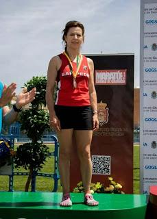 Medalla de Plata para Antonia García en el Nacional de Media Maratón