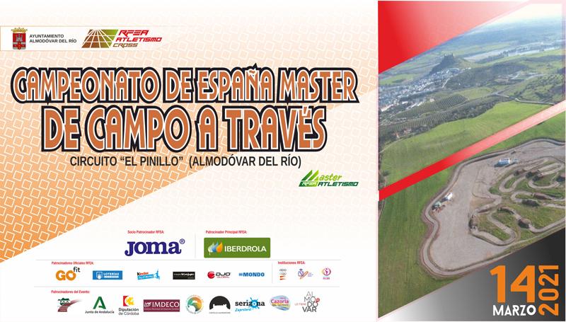 Intenso fin de semana con el Campeonato de España Máster de Campo a Través, Campeonato de Andalucía de Trail y Campeonato de Andalucía Sub16 en Pista Cubierta.