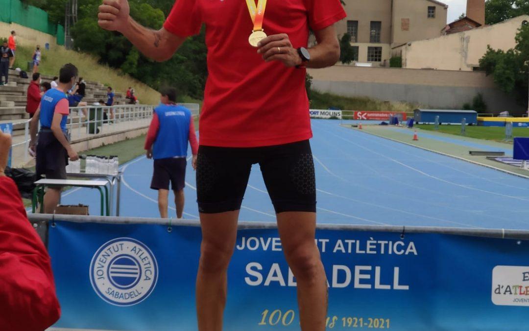 Javier Díaz Carretero Campeón de España de 10000m