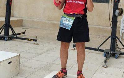 Pedro Domínguez Bronce en el Campeonato de Andalucía de UltraTrail