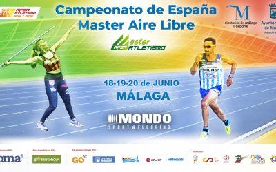 Campeonato de España Máster al Aire Libre 2021