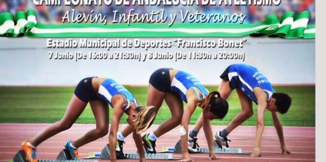Campeonato de Andalucía de Veteranos al Aire Libre
