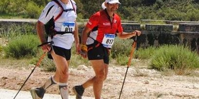 Pedro Domínguez en el Ultra Trail del Mont Blanc