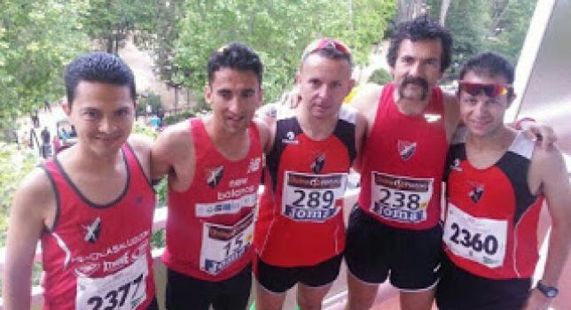 Campeonato de España de Media Maratón. Javier Díaz Carretero Subcampeón de España M35.