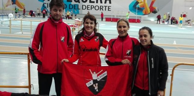 Campeonato de Andalucía Máster en Pista Cubierta
