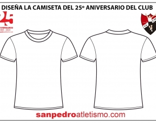 Diseña la camiseta del 25º Aniversario