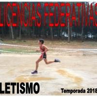 Licencias Atletismo 2018-2019