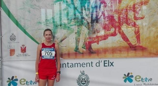 Mamen Moreno 5ª en el Campeonato de España