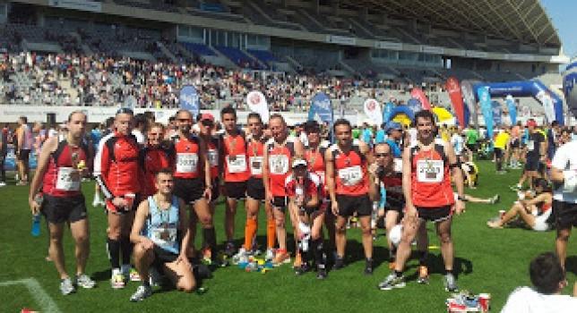 Treinta atletas del Club en la Media Maratón de Málaga