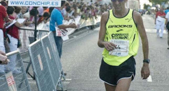 Javi Díaz Carretero, 3º en el Campeonato de España de Media Maratón
