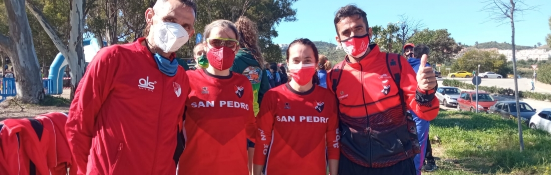 Antonia García y Javier Díaz Campeones de Andalucía de Campo a Través