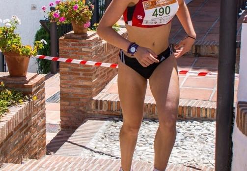 Alba Gómez 6ª en el Andaluz Cadete