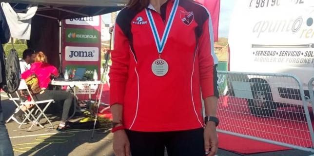 Antonia García González, Subcampeona de España de Media Maratón