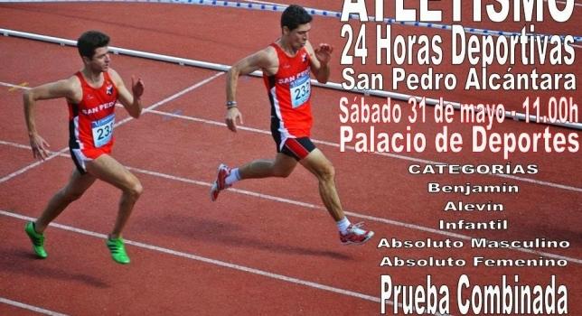 Atletismo en las 24 Horas Deportivas 2014