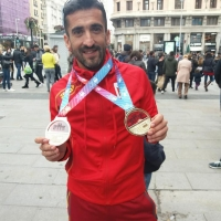 Bronce de Javier Díaz Carretero en el Europeo de Cross