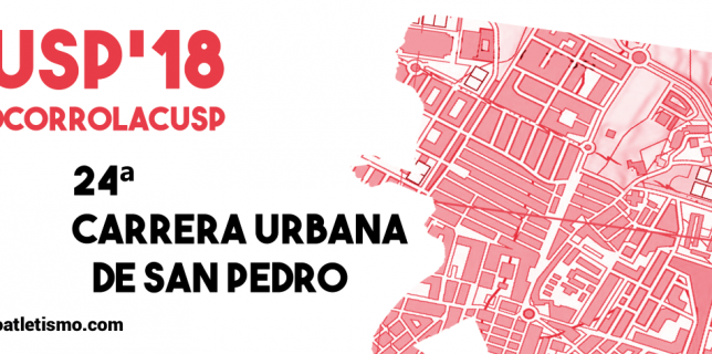 XXIV Carrera Urbana de San Pedro – CUSP'18