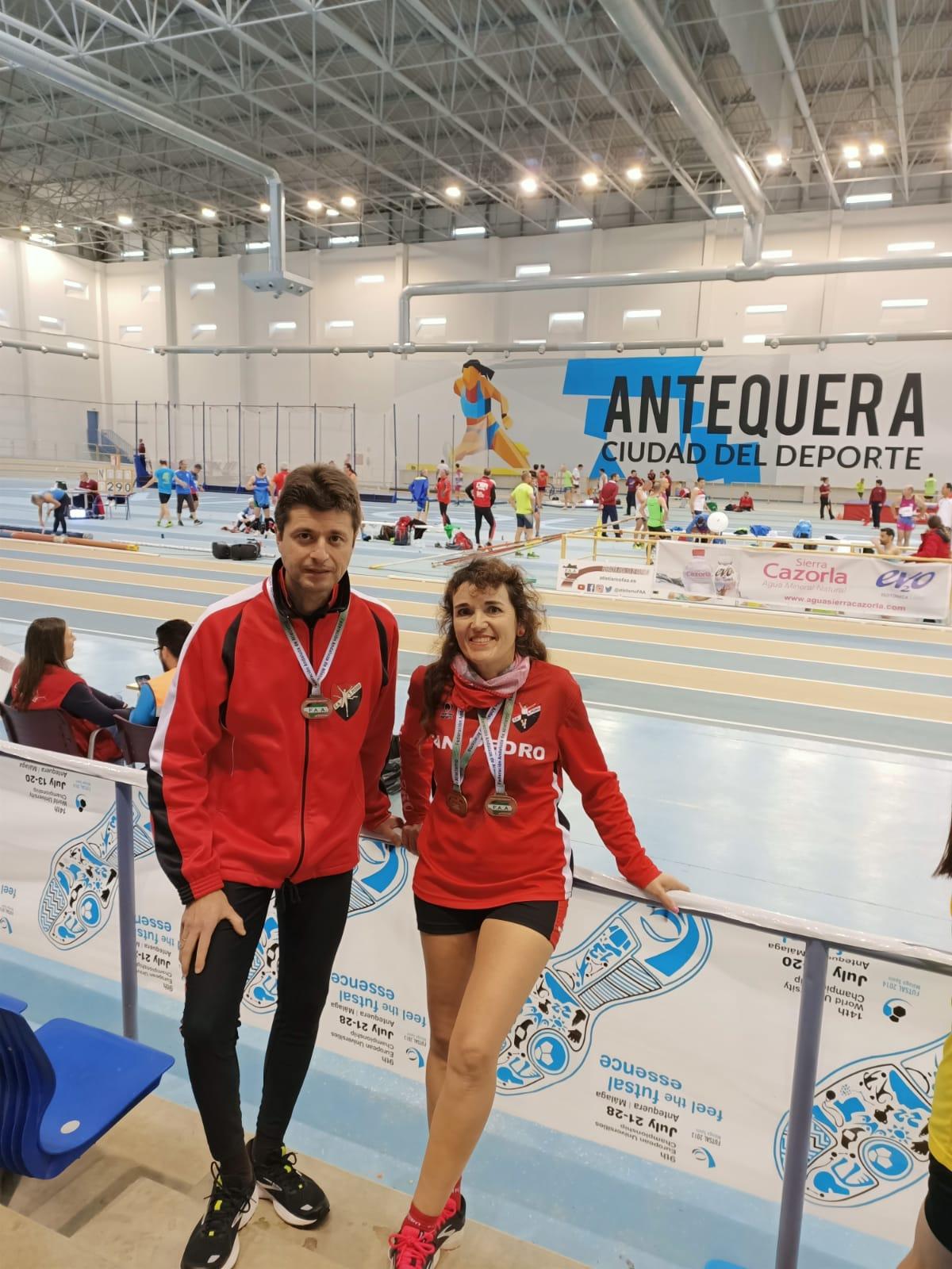 Campeonato de Andalucía Máster en Pista Cubierta 2020
