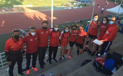 Siete medallas, cinco de Oro en el Campeonato de Andalucía Máster