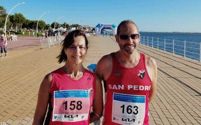 Campeonato de Andalucía de 10km en Ruta. Medalla de Oro para Antonia García González