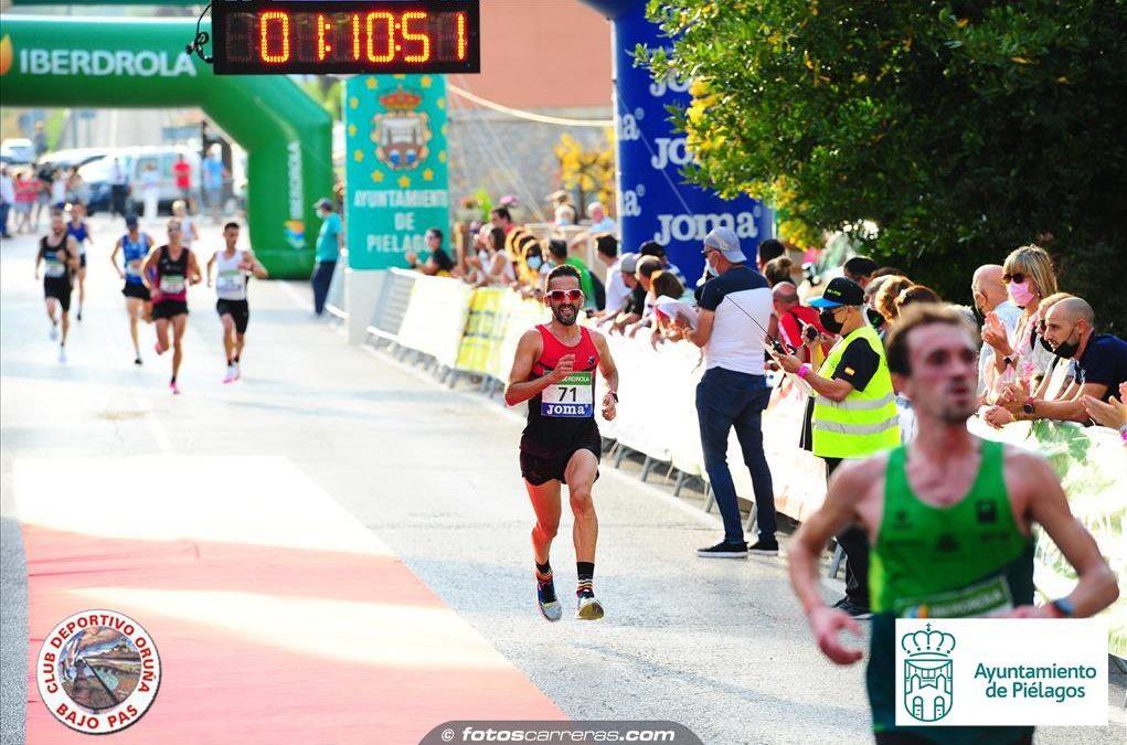 Javier Díaz Carretero, Campeón de España de Media Maratón